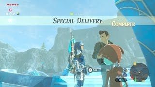 Zelda: BOTW (Special Delivery) Side Quest