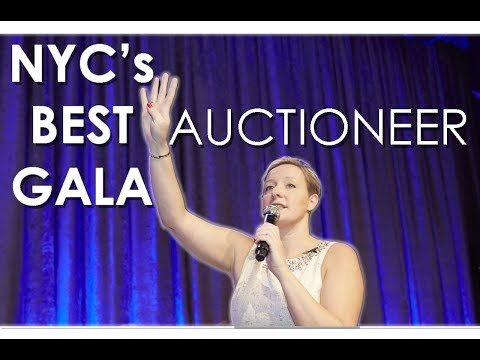 New York City Charity Gala Auction conducted by NYC best Auctioneer