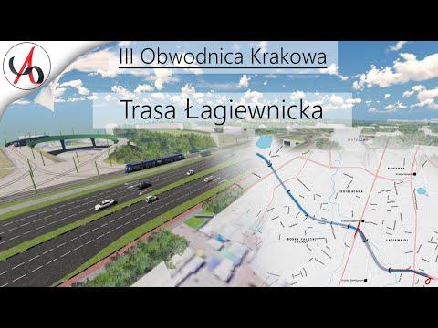 Trasa Łagiewnicka Wizualizacja