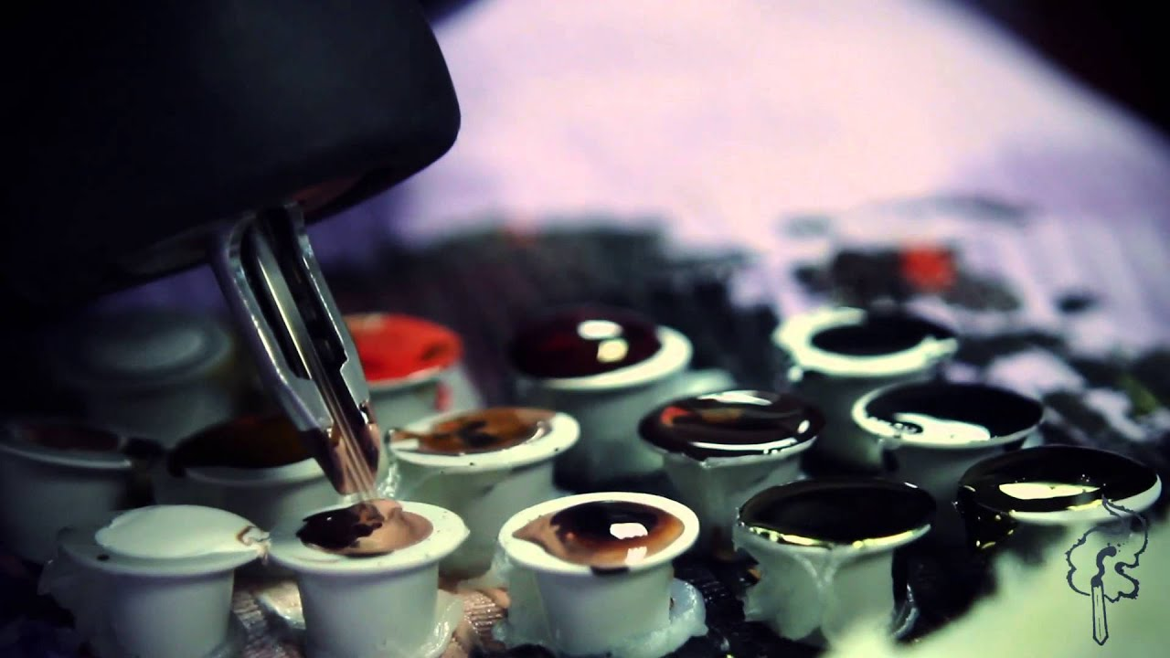 Harry potter hedwig tattoo artist ben reigle work in progress youtube - Hd ink wallpaper ...