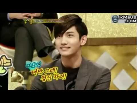 [HD][ENG](TVXQ CUT) Changmin & His Fans.... Part.1