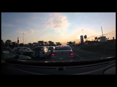 Time Lapse Traffic In Johannesburg