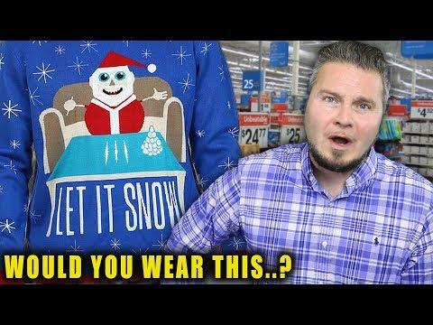 Walmart Christmas Sweater Gone Wrong...