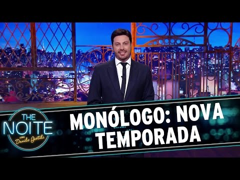 The Noite (07/03/16) - Monólogo: Nova Temporada E Com Novo Formato!