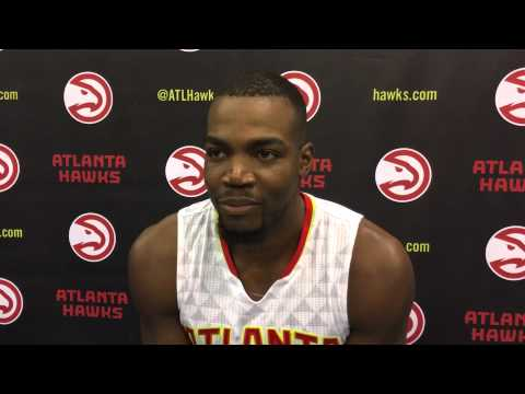 Paul Millsap - Atlanta Hawks Media Day 2015-16