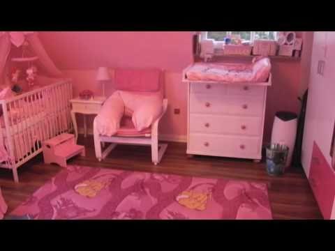 Quarto de menina - Girl´s bedroom - Mädchenzimmer - YouTube