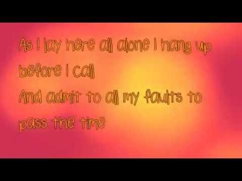 Ron Pope - Tightrope Karaoke Track with lyrics
