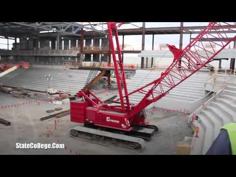 Pegula Ice Arena Construction Tour