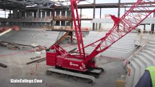 Pegula Ice Arena Construction Tour