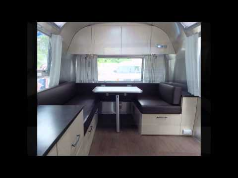 1972 Airstream Restoration Project by Woodland Travel Center in Grand Rapids, Michigan