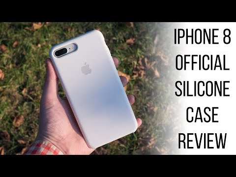 Apple IPhone 8 Official Silicone Case Review