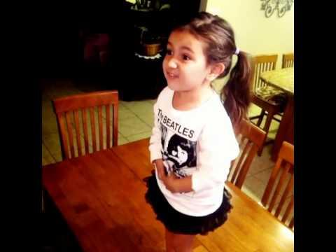 Katy Perry - Roar - Sienna 3 Years Old