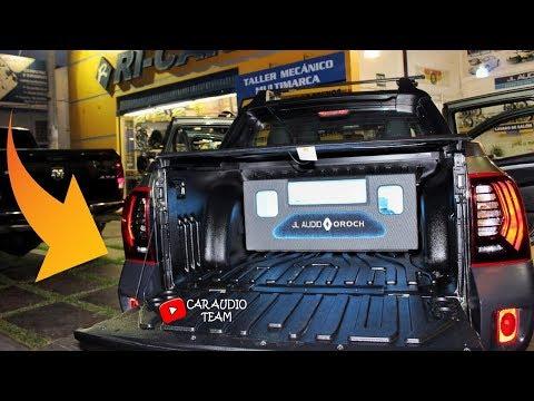 RENAULT OROCH EQUIPADO CON JL AUDIO - RICAR / CarAudioTeam