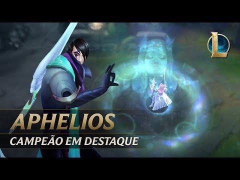 Campeão em Destaque: Aphelios  Mecânica de jogo - League of Legends