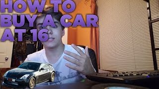 How To Buy A Car At 16 Part 1 Getting Money