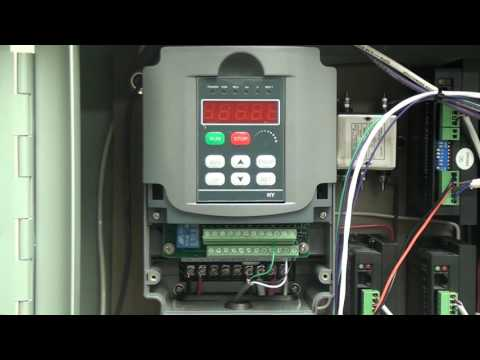 Huanyang Vfd 2 2kw Pt1 2 Wiring Youtube