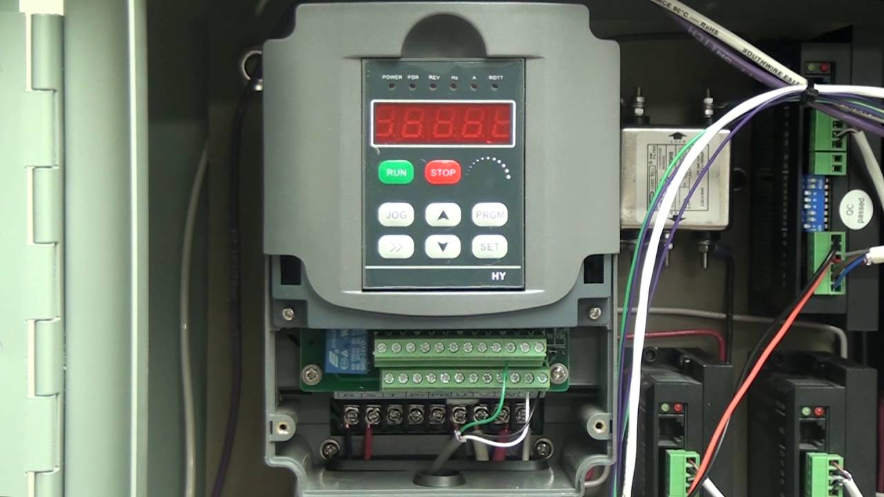 vfd control wiring diagram trailer huanyang 2 2kw pt1 youtube