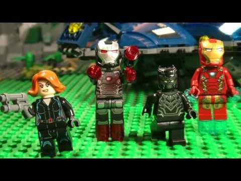 LEGO MARVEL COMPILATION - CIVIL WAR