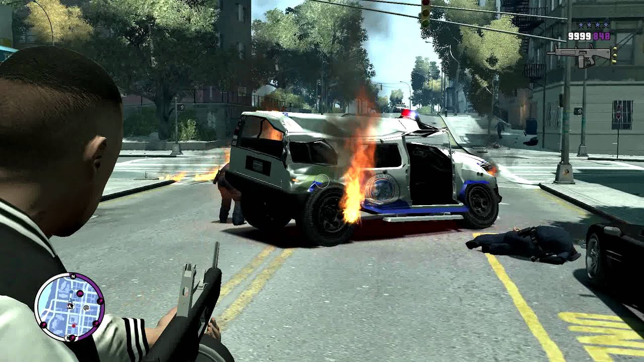 Can T Shoot Out Of Car Gta