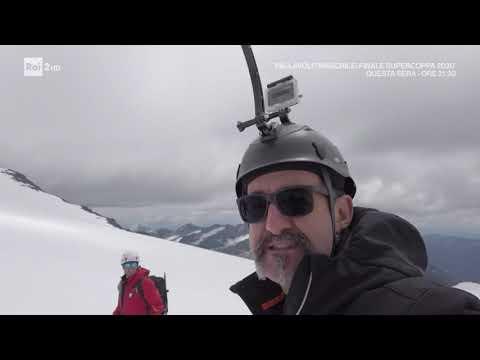 Ricerca microplastiche sul ghiacciaio del Similaun