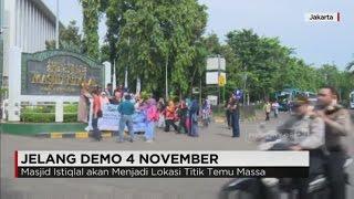 Masjid Istiqlal Siap Tampung Massa Pendemo 4 November