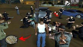 Secret Road Accident Location in GTA San Andreas! (Hidden Place) #RAJPOOTGAMER
