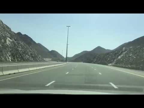 ОАЕ по дороге в Фуджейру