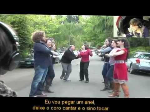 Isaac's Live Lip-Dub proposal - Marry You - Legenda Português(br)