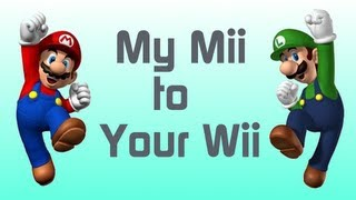Wii U - How to make Mario & Luigi Mii's (My Mii To Your Wii Ep. 4)