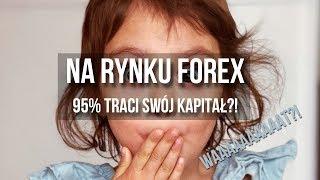 Na rynku Forex 95% inwestorów traci   #9 Forex krok po kroku