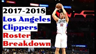 2017-2018 los angeles clippers roster breakdown: nba 2k18 rosters