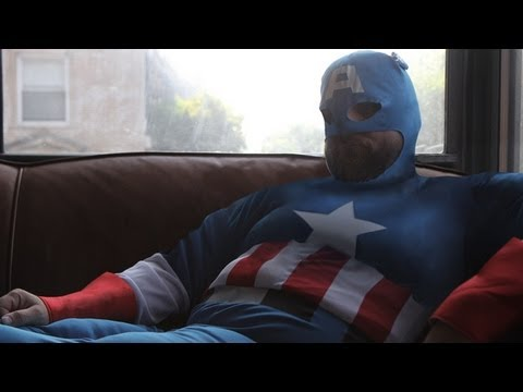 Captain Actual America Overweight, Hopelessly In Debt