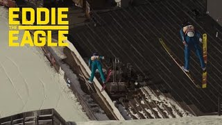 Eddie the Eagle | Filming the Movie's Stunts | 20th Century FOX