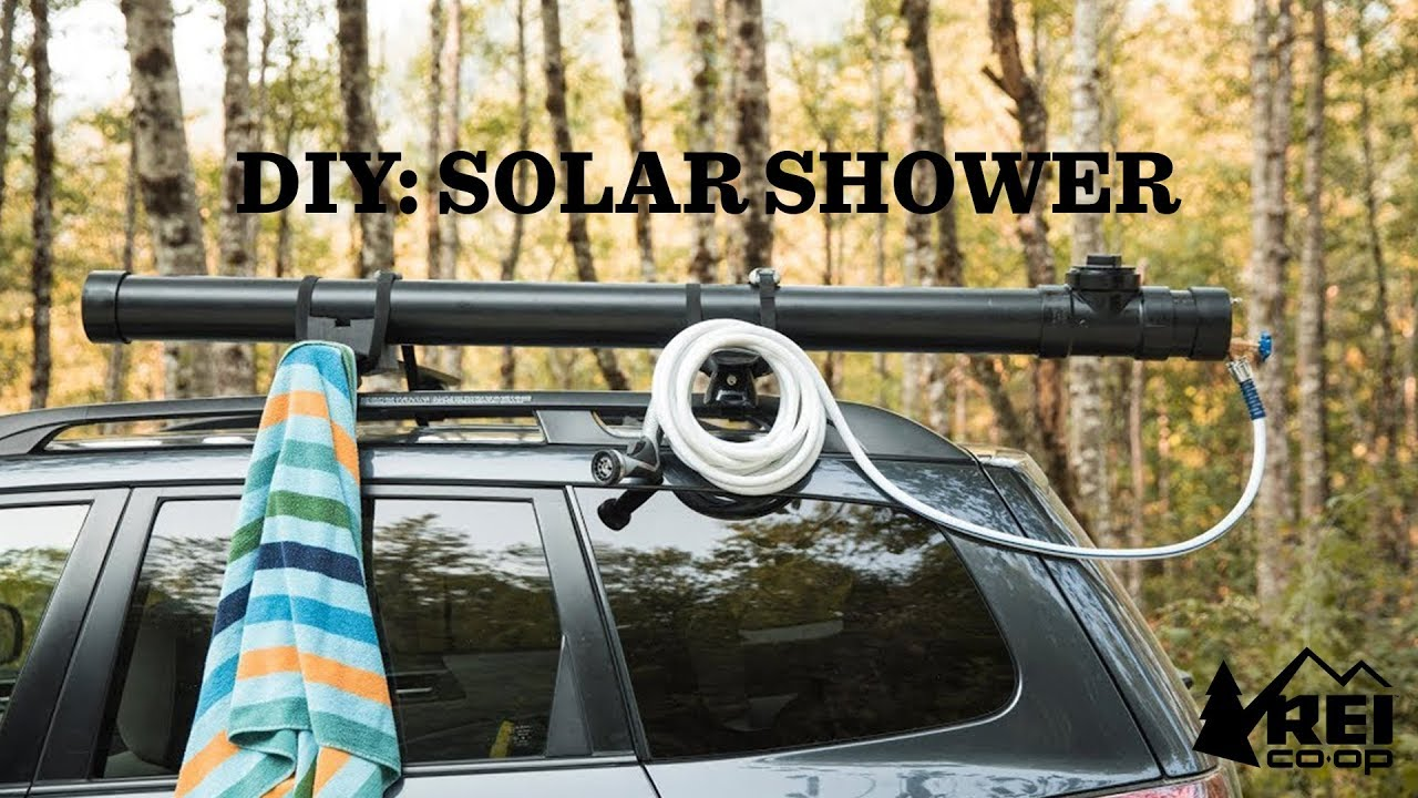 Diy Car Top Solar Camp Shower Rei