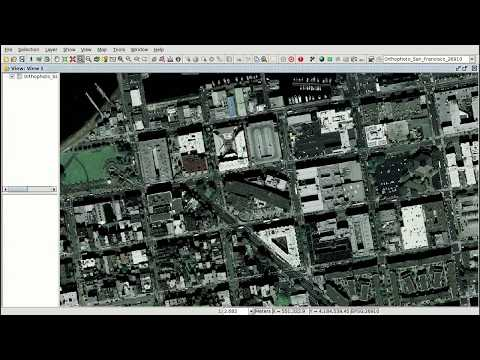"""GIS for municipality management"" course (Mod. 3): Views, layers, symbology, labelling"