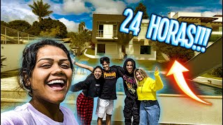 24 HORAS NA MANSÃO DO LAGO!!!