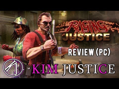 Raging Justice Review (PC/PS4/Switch) - A Digitised Brawler in 2018 - Kim Justice