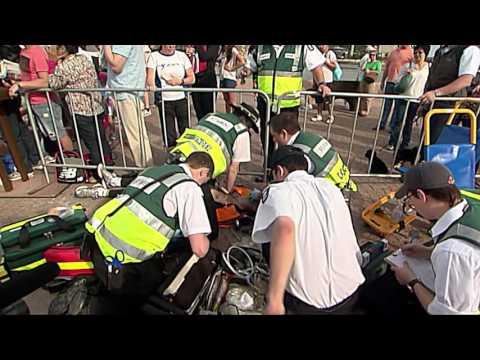 St John volunteers save Sudden Cardiac Arrest victim, Jamie Donaldson