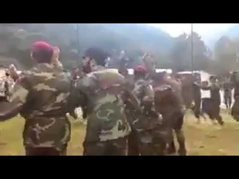 Pti Song and Pak army Attan in Russia pashtu song
