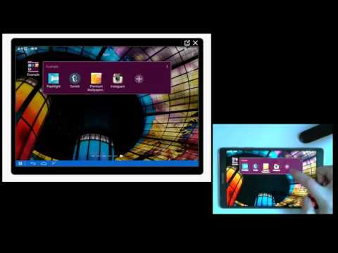 How To Make And Manage Folders On Samsung Tablet