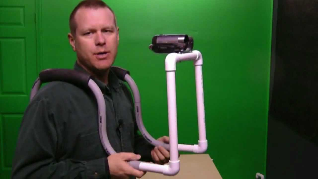 Cool Double Shoulder Hands Free Camera Rig - YouTube