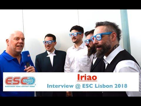 Iriao (Georgia) interview @ Eurovision 2018 Lisbon | ESC Radio
