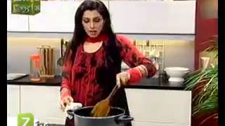 Baingan Gosht And Berry Lemon Slush By Chef Tahira Mateen   Zaiqa