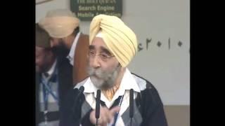 (Hindi) IGP of Jammu guest at Jalsa Qadian 2010
