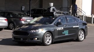 Go for a Ride in Uber's Autonomous Car