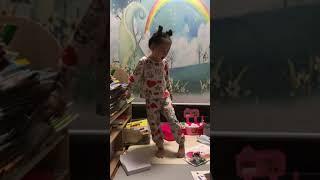 단아 인형극,개미와 배짱이 연극하는 6살
