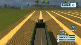 Farming Simulator XBOX 360: How to Raise Cows Episode 1 Straw