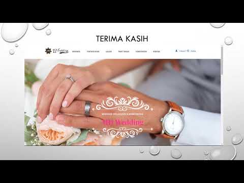 Video Promosi Md Wedding Aplikasi Wedding Organizer Berbasis Web Menggunakan Bahasa Php Ci Youtube