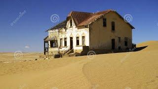 Construindo uma mansão no deserto, durante a restauração do casamento.