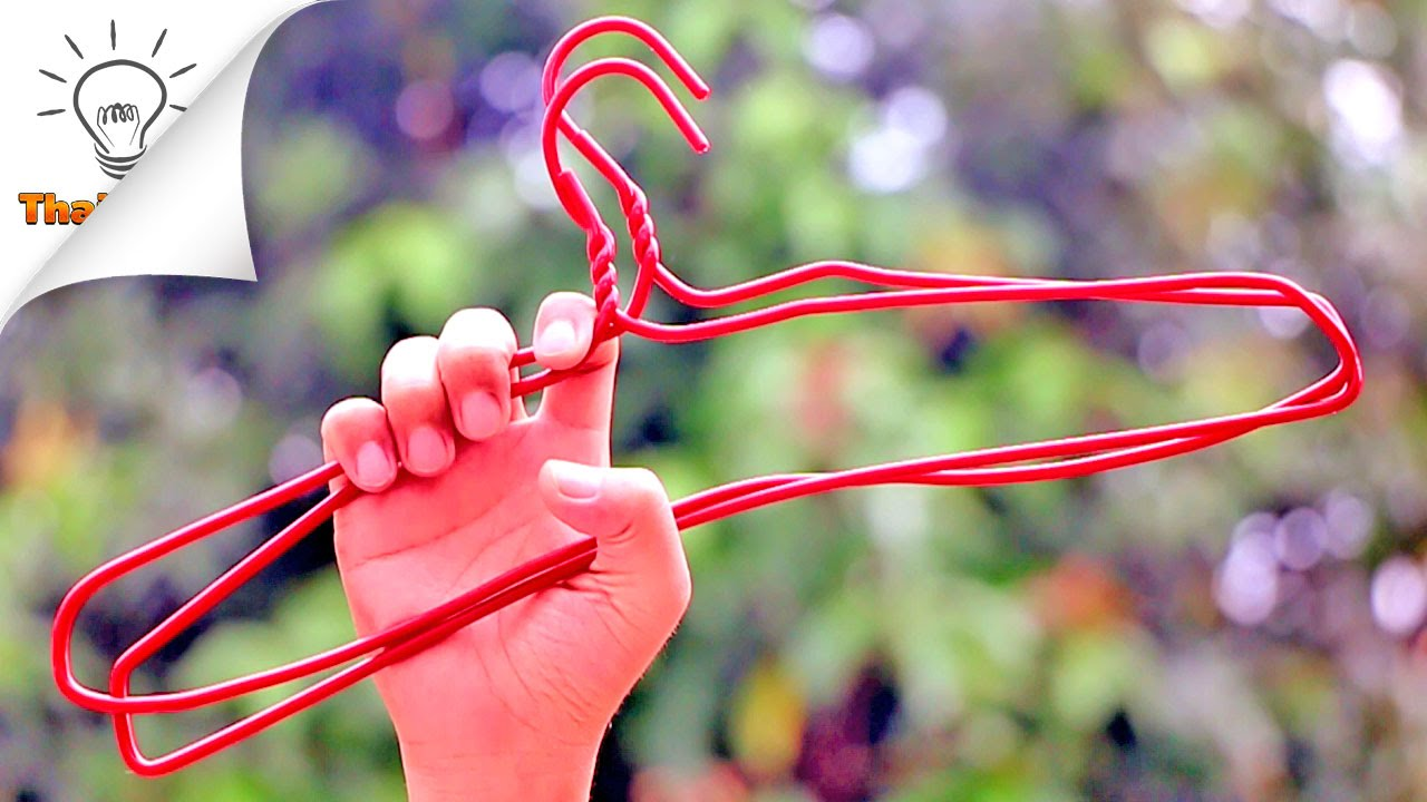 20 Hangers Life Hacks Everyone Should Know | Thaitrick